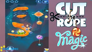 Cut the Rope Magic - Daily Challenges June, 12 2016 (3 stars, 1 star, 2 stars + don't use a jar)
