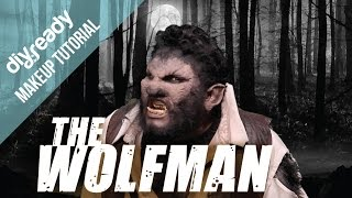 The Wolf man The Wolfman Makeup Tutorial Materials needed; -Makeup ...