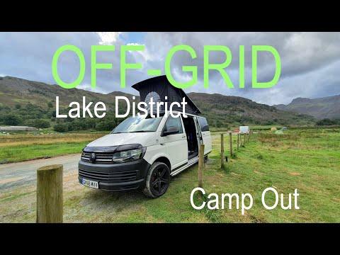 Off Grid Lake District Camp Out & Walk - VW T6 Camper Van