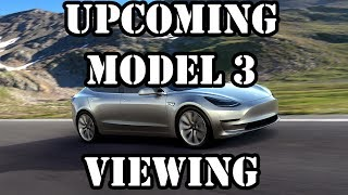 Upcoming Model 3 Viewing, Questions For Franz, & A Channel Update
