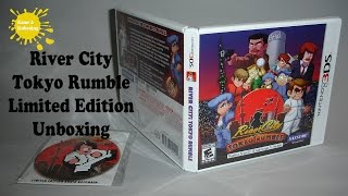 River City: Tokyo Rumble Limited Edition with Keychain Unboxing & Overview