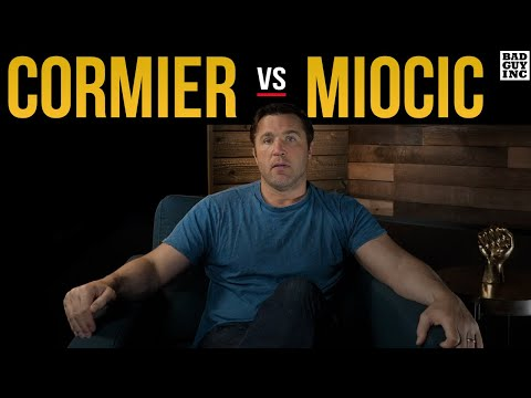 CORMIER vs MIOCIC: The Weigh-In Will Tell Us A Lot About The Fight…