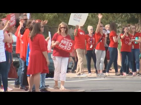 VIDEO: Gov. Ducey meets with teachers over funding demands