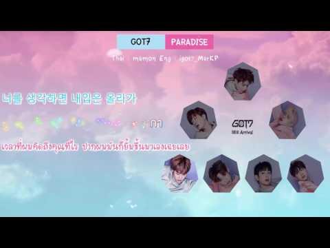 [Karaoke/Thaisub] GOT7 (갓세븐) - Paradise