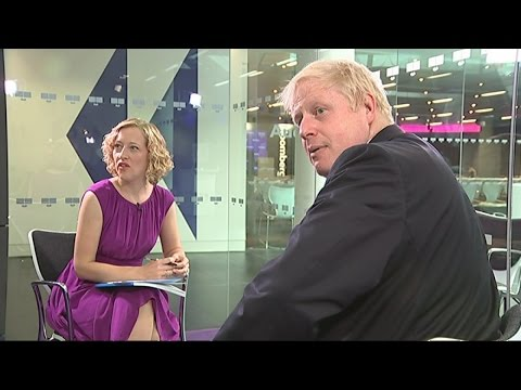 Boris Johnson gets interrupted by his spin doctor | Channel 4 News