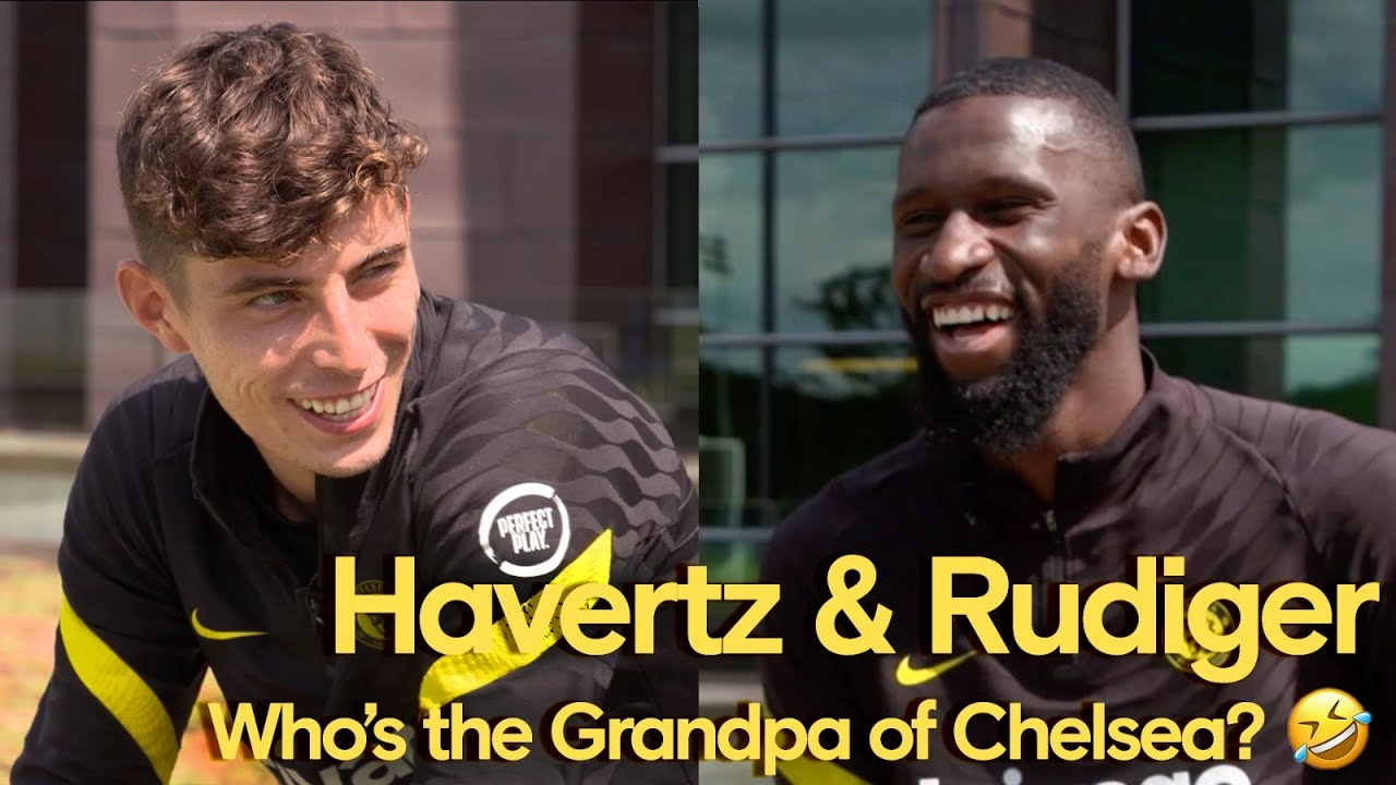 Download Havertz & Rudiger Answer Fan Questions! | Who's the Grandpa Of Chelsea & Who's Best Dressed?