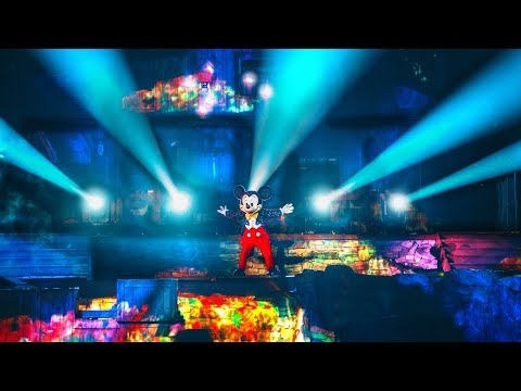 Fantasmic! - (Full Show) At Disneyland Park Anaheim California 2019