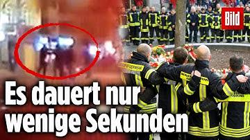 Das geschah vor der tödlichen Attacke auf den Feuerwehrmann in Augsburg – Dashcam-Video
