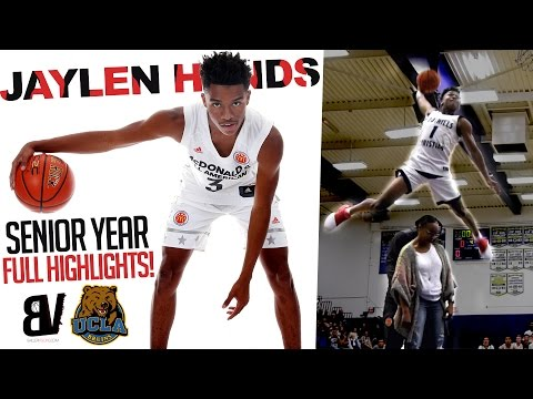 Jaylen Hands Senior Year FULL HIGHLIGHTS | UCLA Replacing Lonzo Ball w/ Another BEAST!
