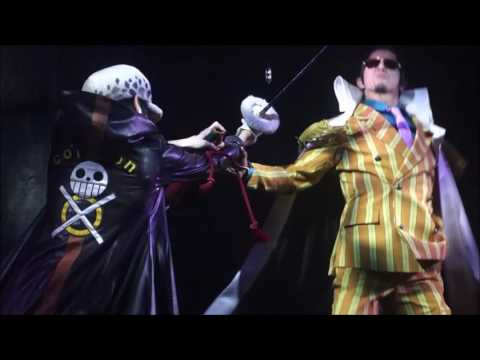 One Piece Tokyo Tower Live Action ~ Law attacks with Room, Tact & Countershock