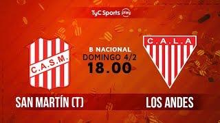 San Martin de Tucuman vs Los Andes full match