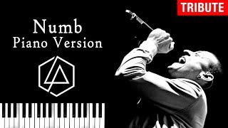 Linkin Park - Numb | Piano Version - Tribute to Chester Bennington