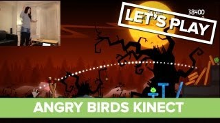 Let's Play Angry Birds Kinect - Angry Birds Trilogy Gameplay Xbox 360