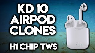 Perfect AirPods 2 Clone with H1 Chip -TWS Earbuds Review- 1:1 Super Copy BEST Version