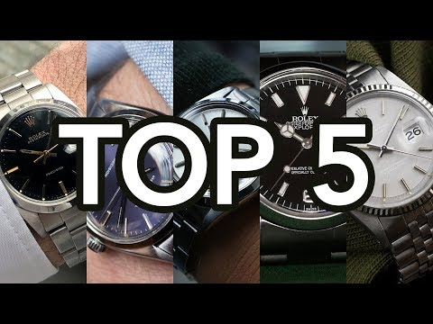 Top 5 GOEDKOOPSTE Rolex horloges onder €5000 Euro
