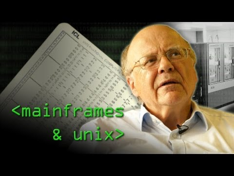 Mainframes and the Unix Revolution - Computerphile