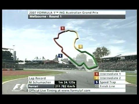 Formula 1 2007 | GP da Australia - #001 - Corrida