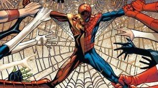 La tragedia de SPIDERMAN en civil war - hombre araña