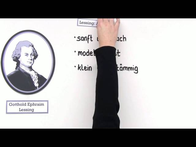 Gotthold Ephraim Lessing Leben Und Werk Deutsch Literatur Youtube
