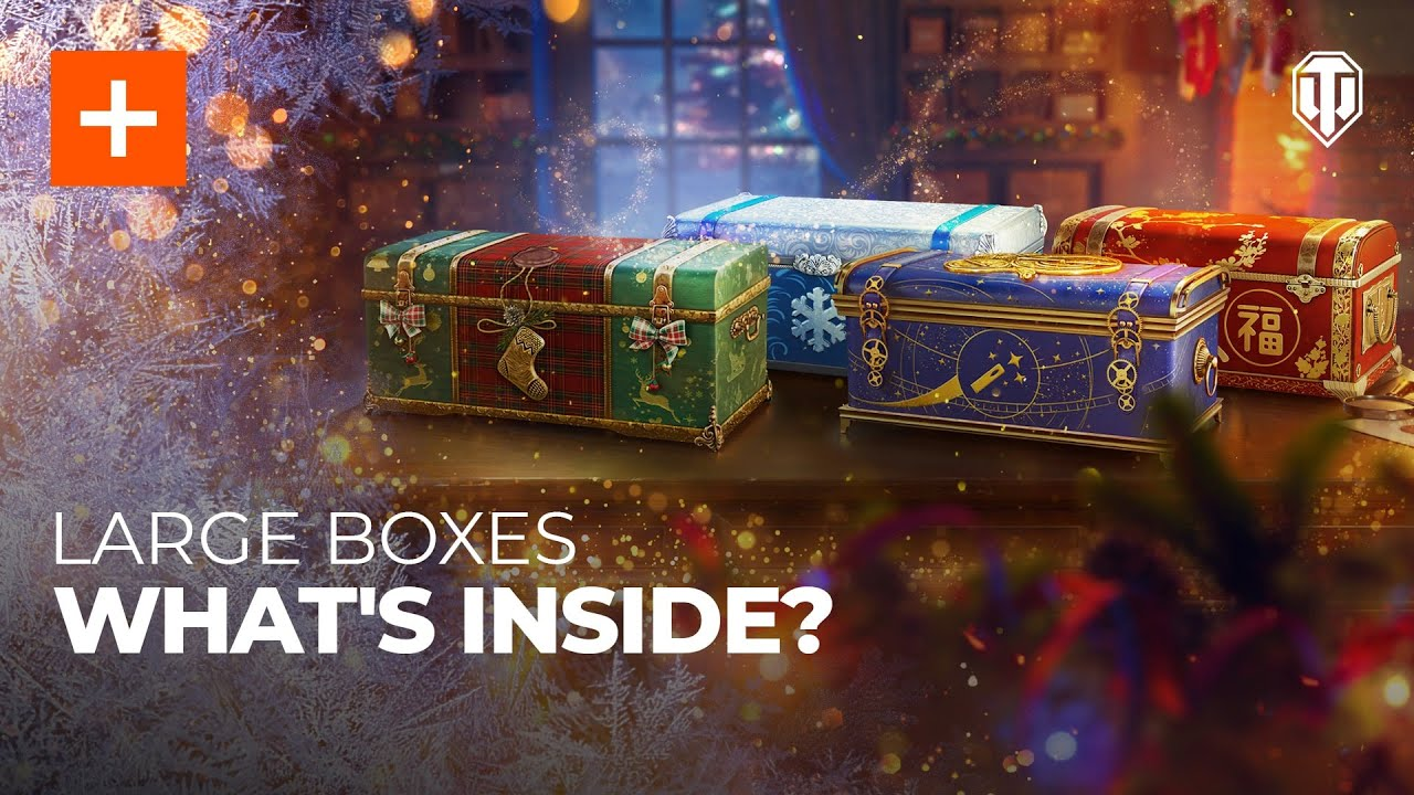 World Of Warships Christmas Containers 2021 Last Chance Holiday Ops 2021 Treat Yourself To Large Boxes