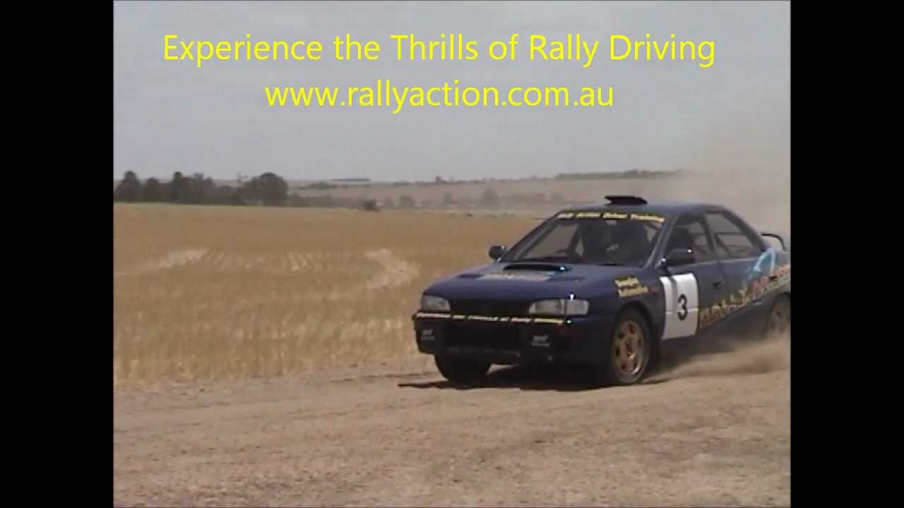 Rally Driving- Perth WA. Thrilling sideways rally driving - YouTube