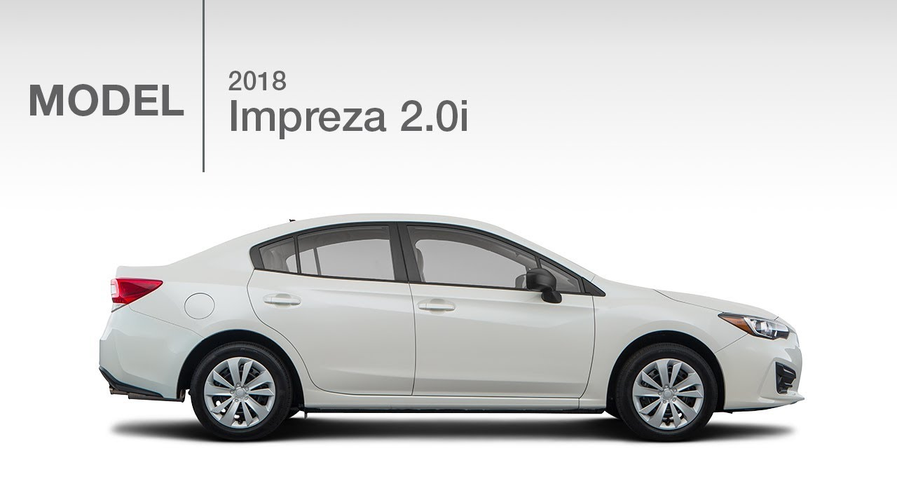 2018 Subaru Impreza 2 0i Base Model Review Youtube