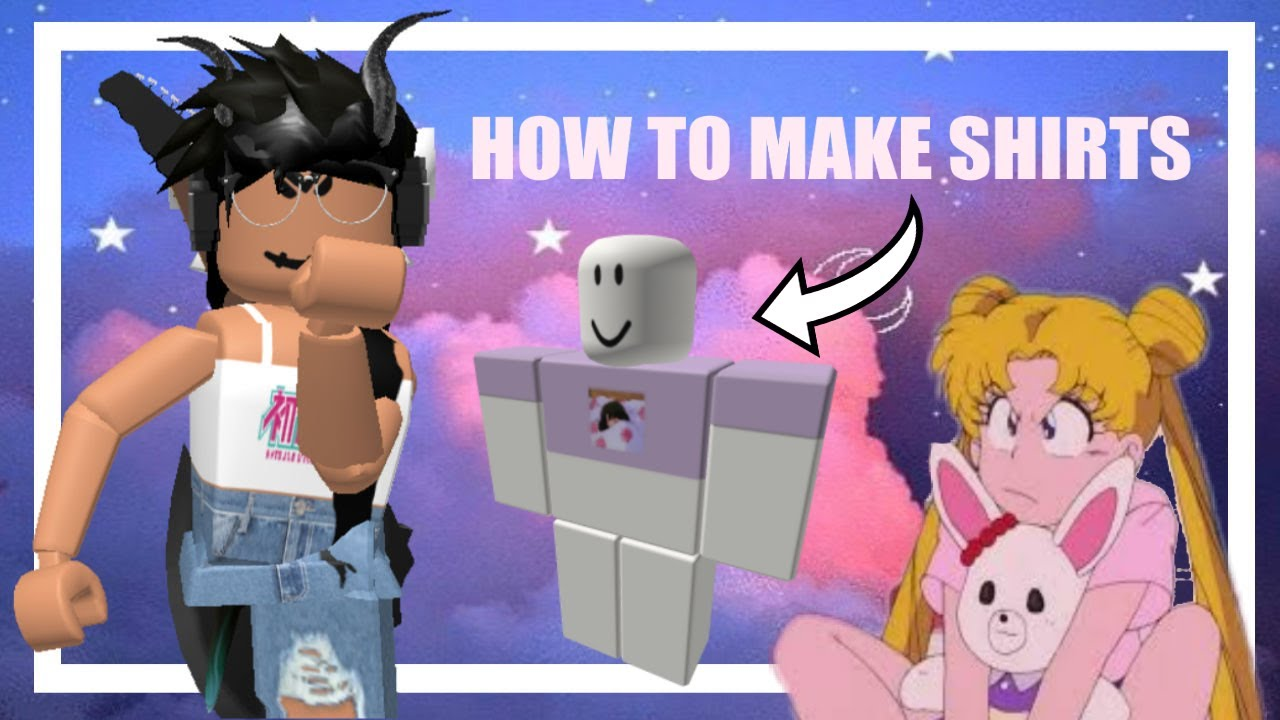 How To Make Aesthetic Shirts On Roblox Youtube