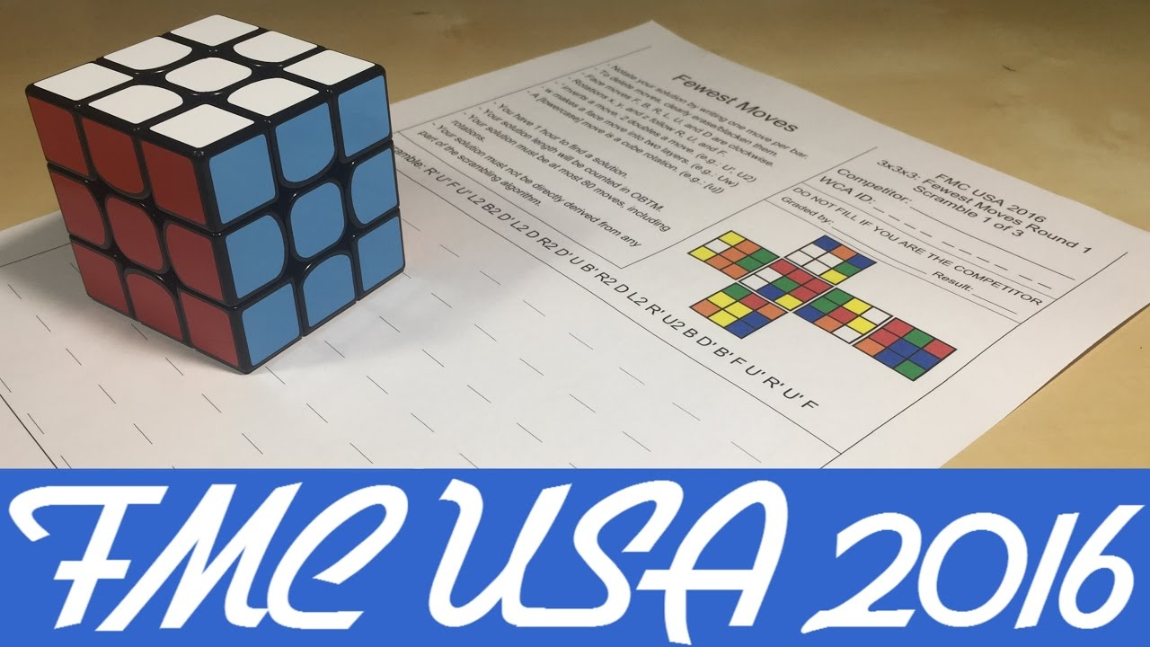 FMC USA 2016! [Rubik's Cube Competition]