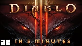 The Entire Diablo Storyline In 3 Minutes (Animation) | Video Games in 3