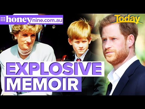 Prince Harry's book to 'focus heavily' on Diana | 9Honey