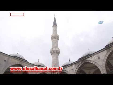 Sultanahmet Camisi'nin minare restorasyonu tamamlandı
