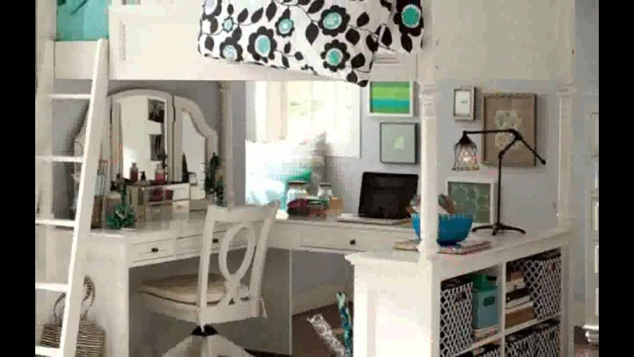 Bunk beds for teenage girls pictures new youtube - Bed room for teen ...
