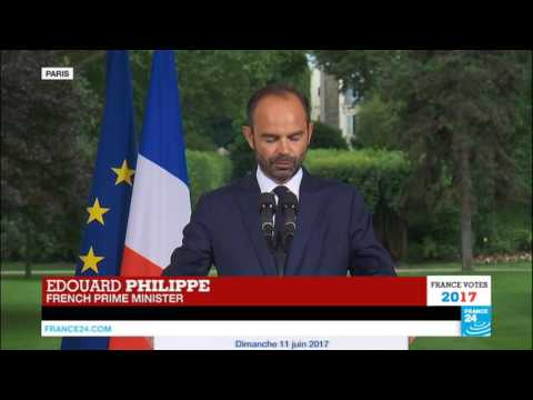 France Legislative Elections: Watch French PM Édouard Philippe