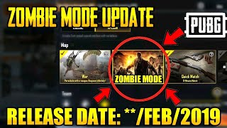 Pubg Mobile - Zombie Mode Release Date Confirmed
