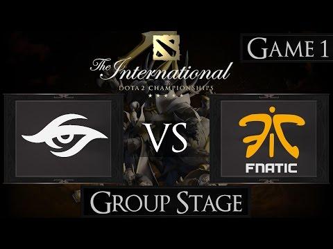 Dota 2 The International 2015 Team Secret vs Fnatic