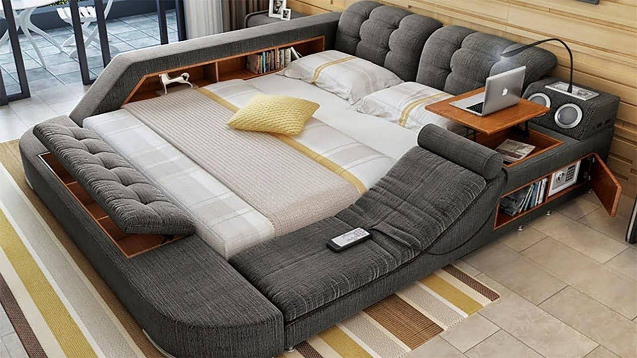 Great Space Saving Ideas with Smart Furniture | WATCH NOW !