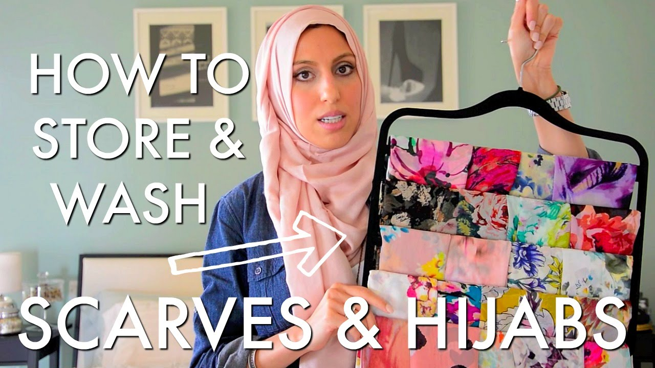 Quick U0026 Easy   How To Organize, Store U0026 Care For Your Scarves   Haute Hijab    YouTube