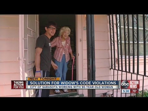 Solutions for 90-year-old Sarasota widow afraid of losing home
