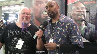 Eugene Clark (Land of the Dead) Interview at Walker Stalker Con