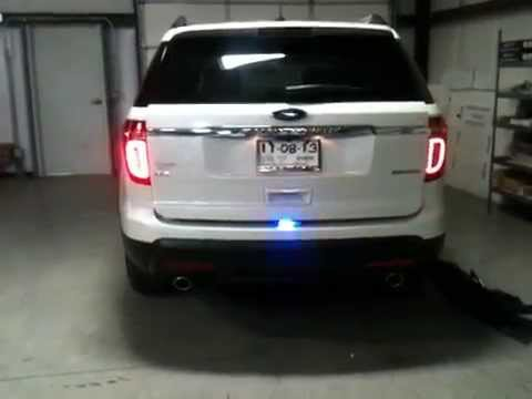 FL-2ORFiF Ford Interceptor Utility (Explorer) Tail-light flasher - YouTube