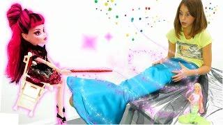 Подружка Вика - русалка! Приключения Барби - Мультики для девочек