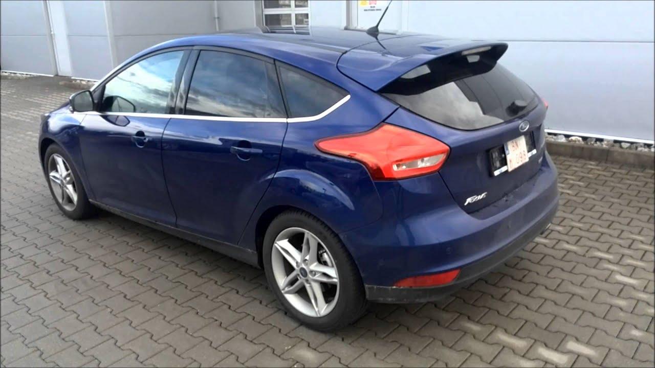 Extrêmement Ford Focus Titanium Deep Imact Blue - YouTube OI06