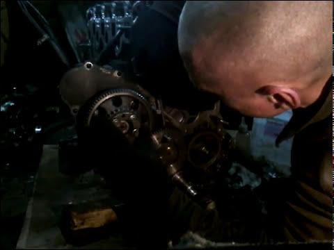 Фото к видео: метки ГРМ ZD30DDTI или ZD30