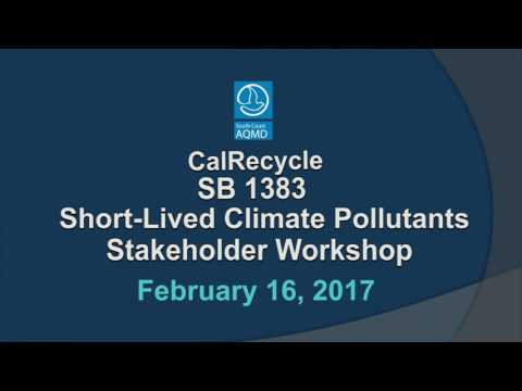 CalRecycle - SB 1383 Stakeholder Workshop
