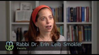 Rabbi Dr. Erin Leib Smokler, Maharat Faculty