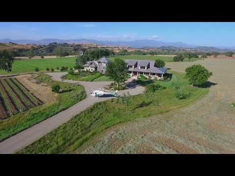 Rancho Rio Robles | 4500 Via Rancheros Santa Ynez | Property Video | Listed by Kendrick Guehr