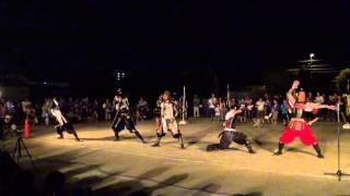 「葵」武将隊☆矢作西小学校で夏祭り2012.08.13