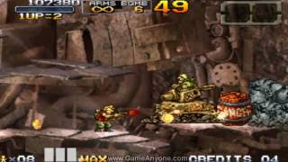 Metal Slug 7 Walkthrough - Mission 1
