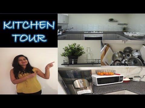 Indian (NRI) Kitchen Tour & Organization in Hindi | Kitchen Organization Ideas