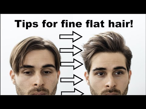 adding-volume-to-flat-hair